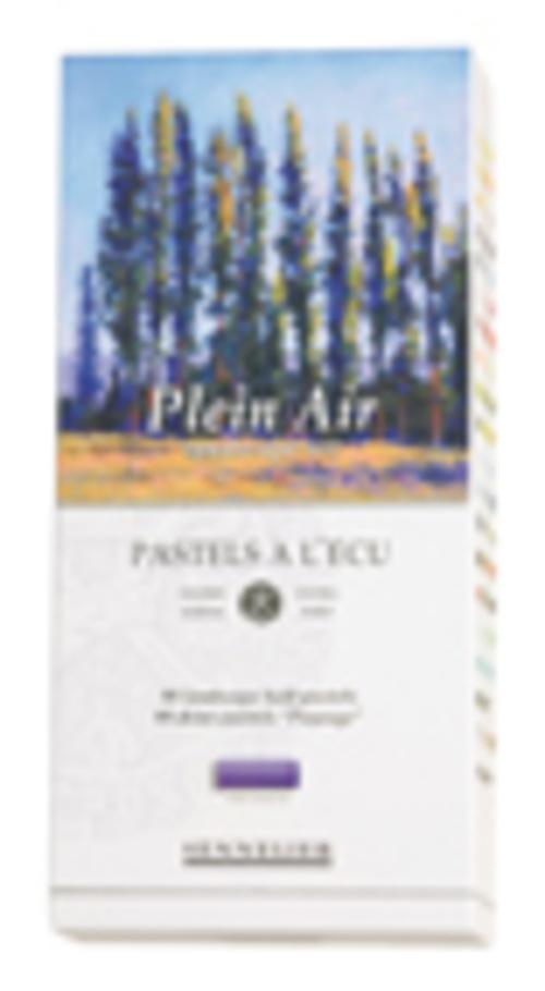 """Etuis carton """"Plein air"""" n132235boite80demipastelspleinairtranchecouleurs"""