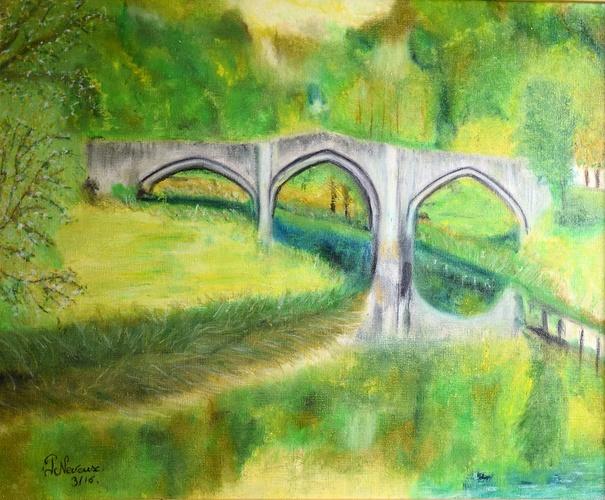 Le pont de Cordemois à Bouillon 6830 0