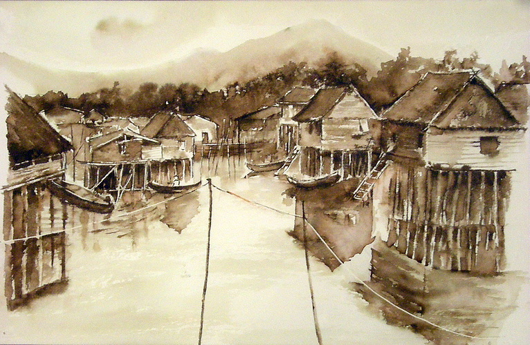 village lacustre philippines 0