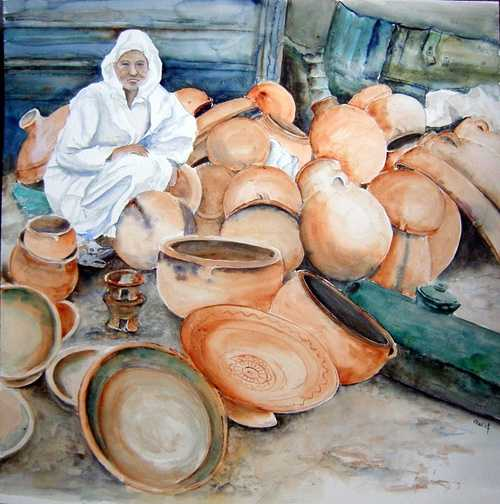 marché potier au Maroc 0
