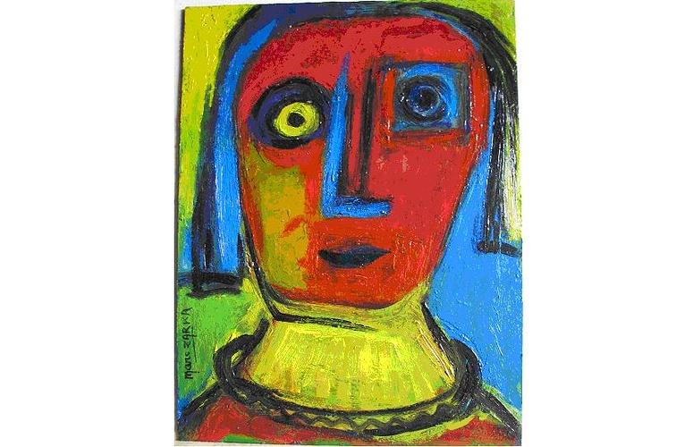 Portrait oeil jaune 0