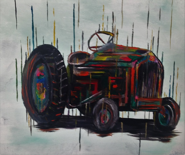 Cyber tractor 0