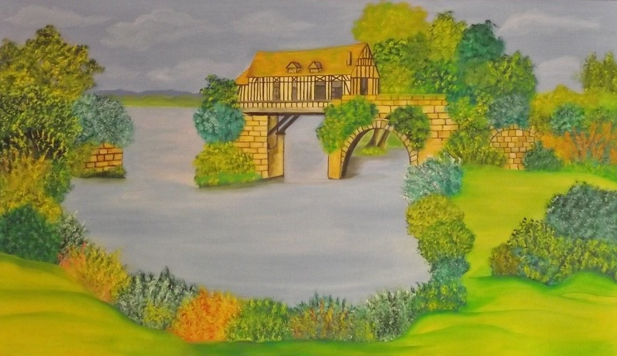 Le vieux moulin (Vernon) 0