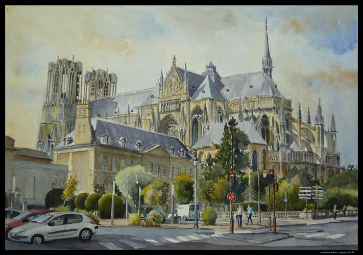 Notre Dame de Reims 0