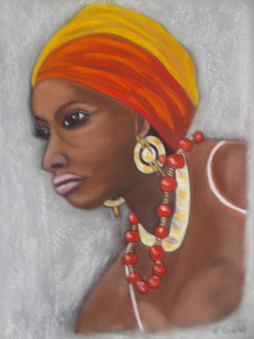 PORTRAIT D UNE AFRICAINE 0