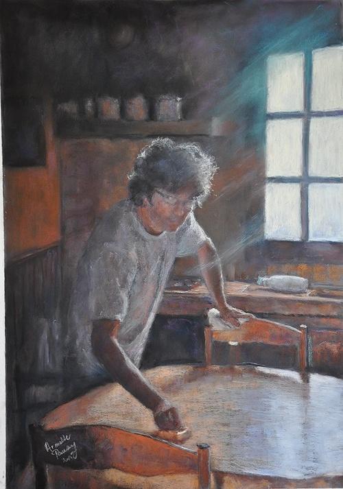 Cosette dans sa cuisine 0