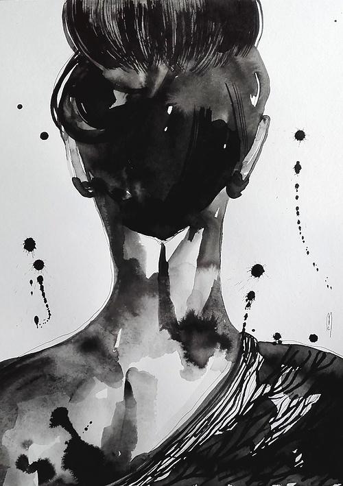 Femme dos silhouette 0