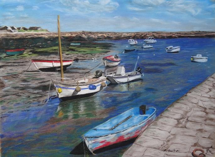 Barques à Honfleur 0