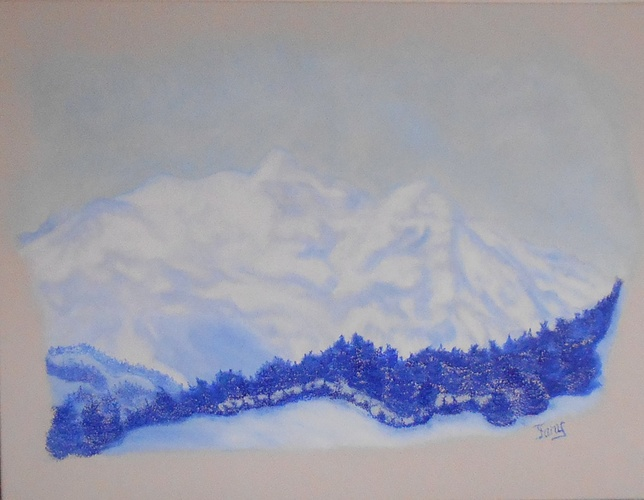 Mt-Blanc depuis Combloux 0