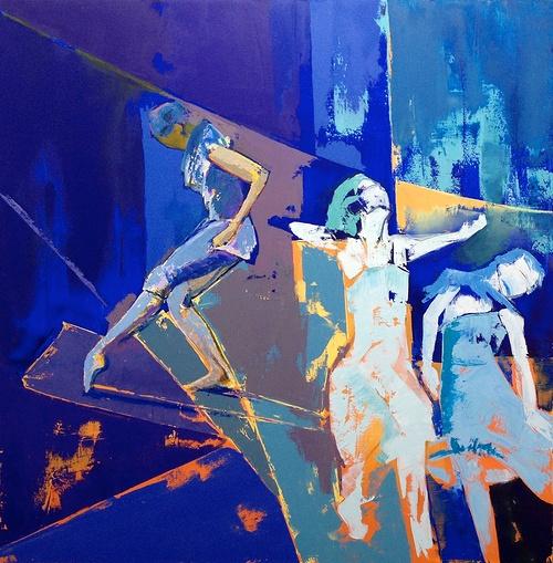 Dance in Blue 0