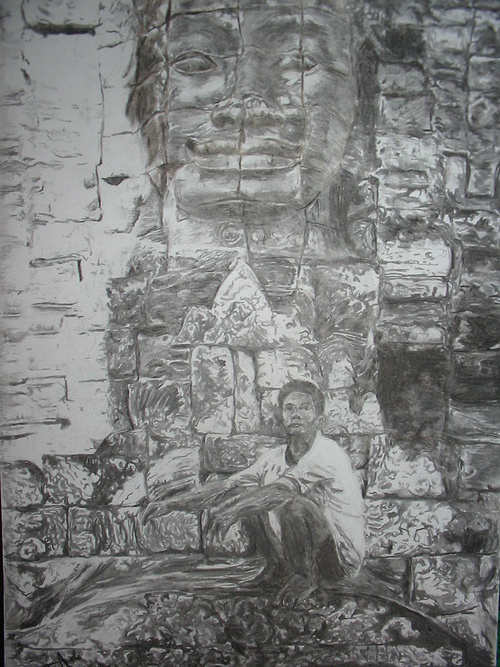 Visages Khmers 0