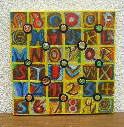 peinture abstraite 0