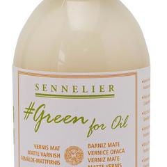 vernis mat green for oil