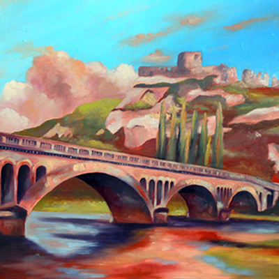 L'ancien pont des Andelys
