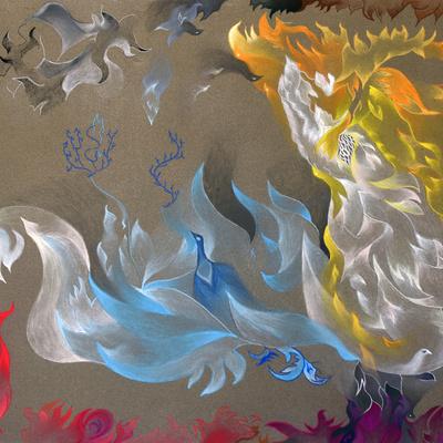 "· Título: ""Padre"" · Autor: Juan Cruz Matarin · Año: 2019 · Tipo de obra: pintura · Técnica: Lápiz Tiza Pastel en Papel Carta ""Sennelier"" · Dimensiones: 50 x 65 cm."