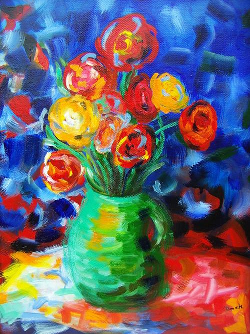 Le bouquet Arlequin 0