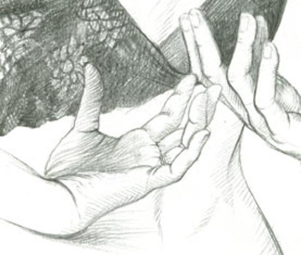 mains dans le dos 0