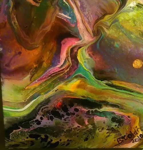 The Aurora Borealis or Ezekiel 1:4 0
