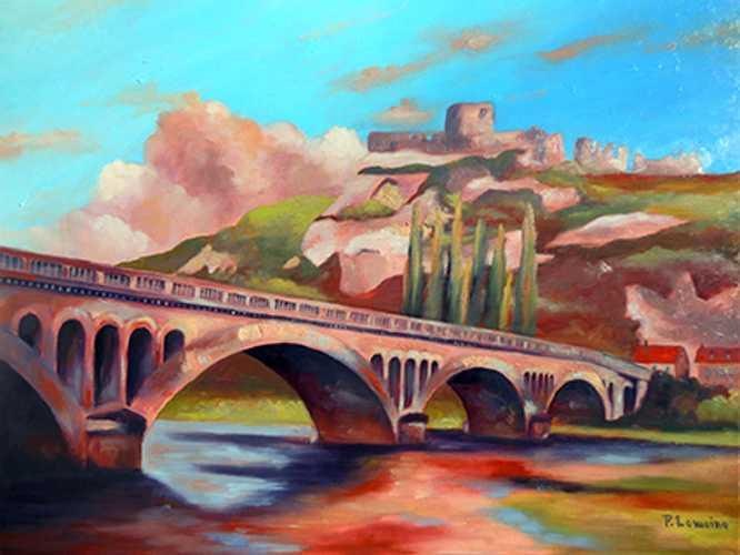 L'ancien pont des Andelys 0