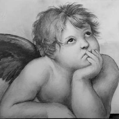 angel (after raphael)