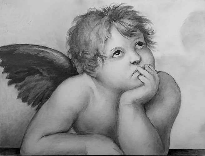 Angel (after Raphael) 0