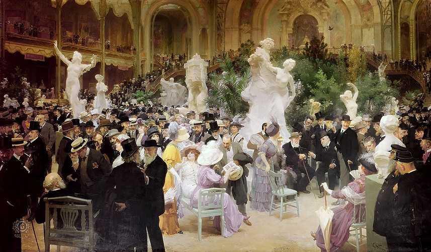 Sennelier, partenaire du Salon de la Société des Artistes Français 0