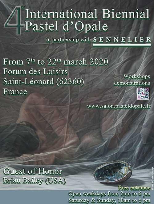 Sennelier, partenaire de la Biennale Internationale Pastel d'Opale 0