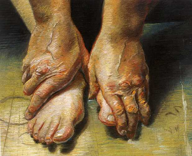 Old Hands and Tired Feet 0