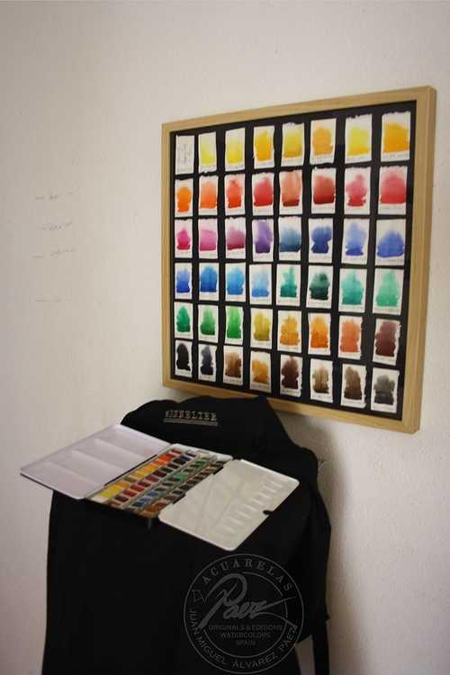 Carta de colores Sennelier 0