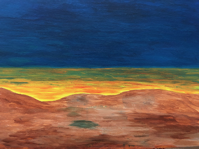 ''Valley Sunset'' (Santa Fe, NM) 0