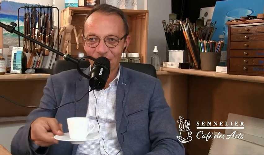Le Café des Arts Sennelier live2