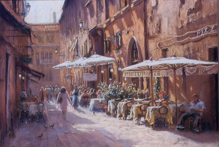 Lunchtime Cafe's, Rome 0