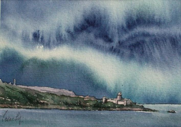 ciel d'eau sur Fort Lalatte 0