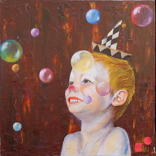 enfant clown 0