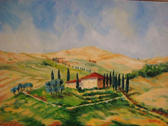 Toscane - San Quirico d'Orcia- 0