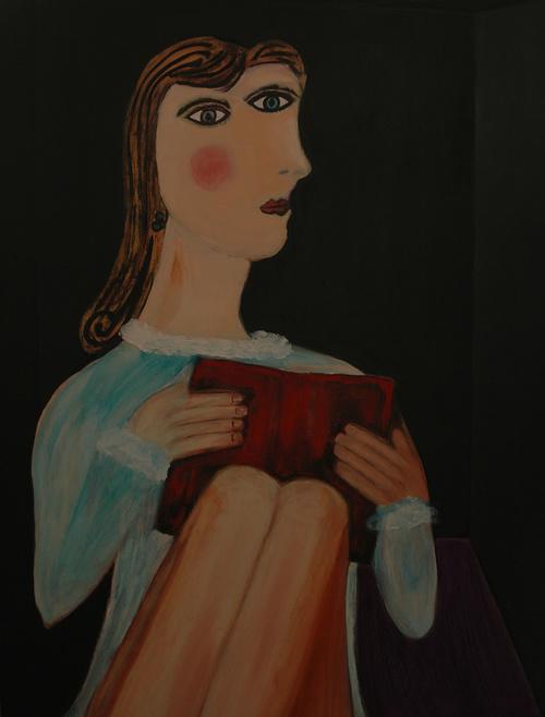 Dora Mar, after Picasso 0