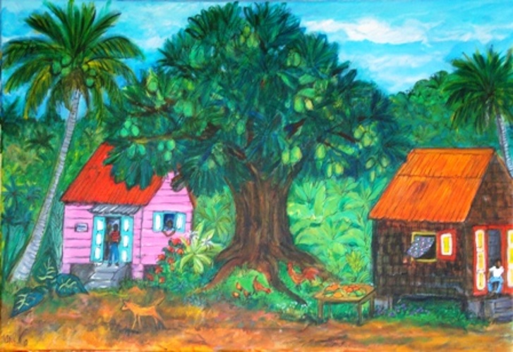 ''''under the mangoe tree'''' 0