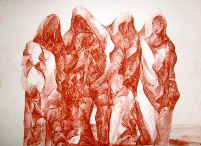 Groupe de femmes Touareg 0