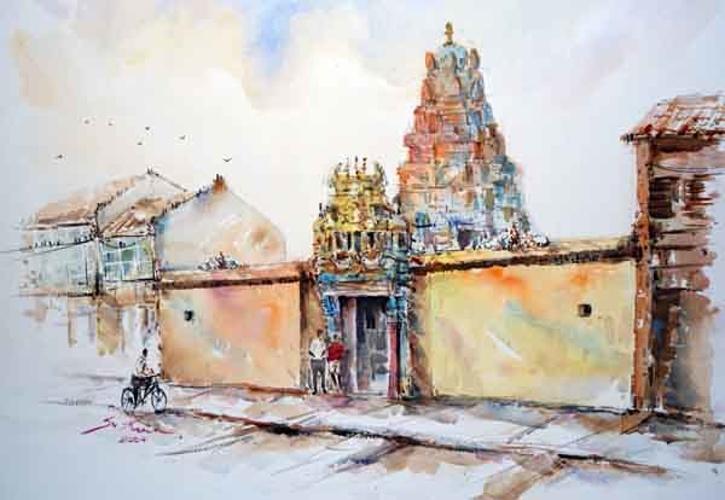 hindu temple in Malaysia 0