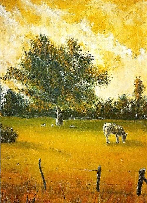 Le viel arbre et la vache 0
