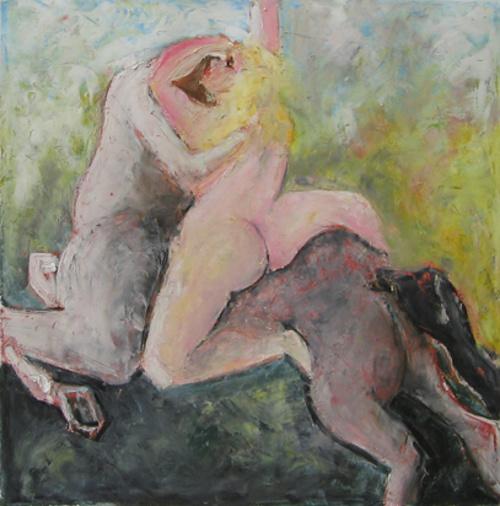 Girl and a Centaur. 2009 0