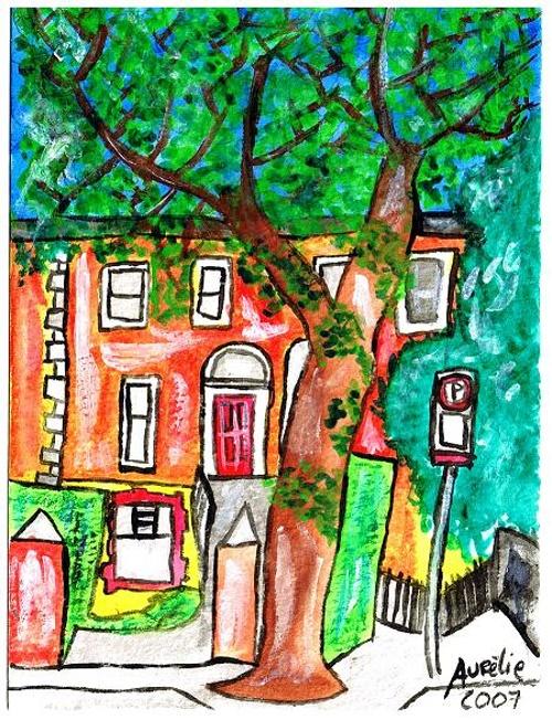 DUBLIN WITH TREE ©2007 0