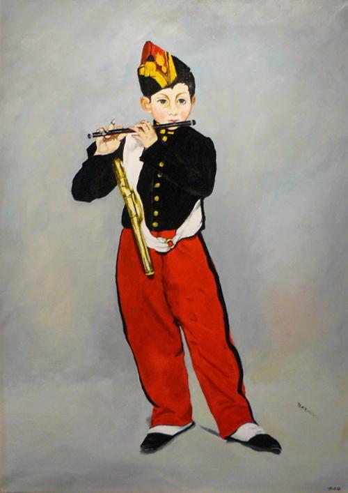 Le fifre d'après Edouard Manet 0