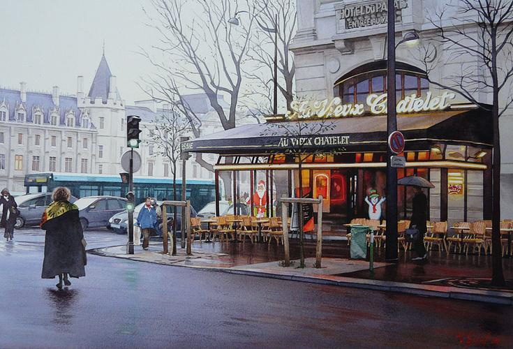 """Le café """"Au vieux Chatelet 0"""