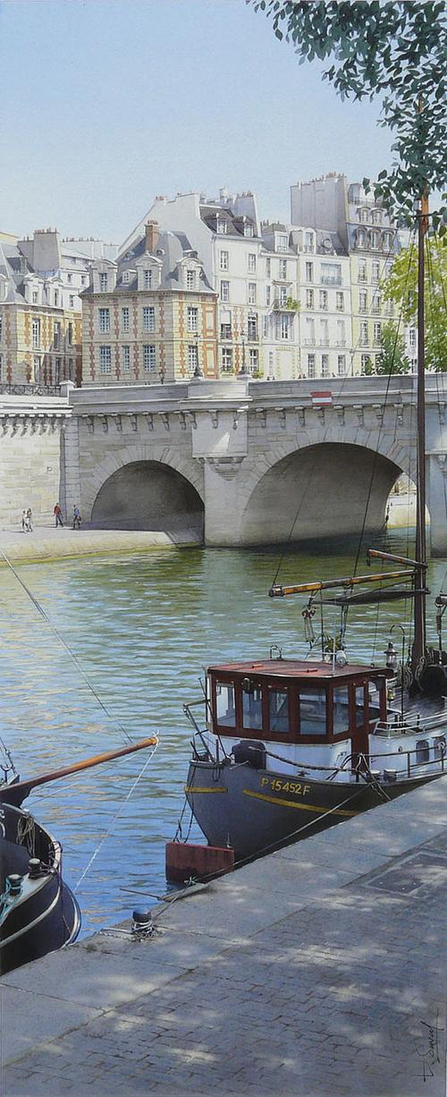 La place Dauphine et le pont Neuf 0