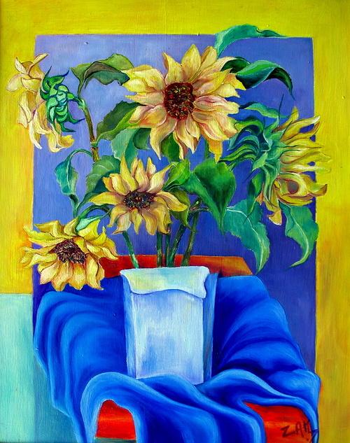 Bouquet de tournesols 0