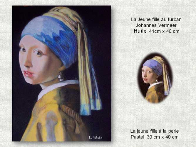 La jeune fille au Turban(dite à la perle) J.Vermeer 0