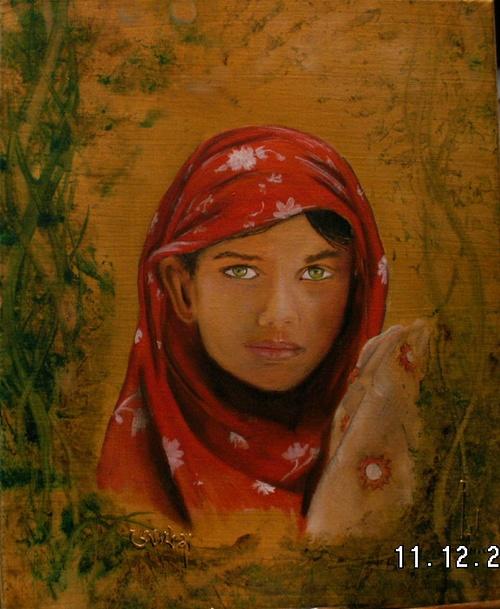 Jeune fille au Bangladesh 0