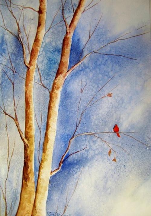 Oiseau d'hiver 0