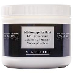 medium gel brillant